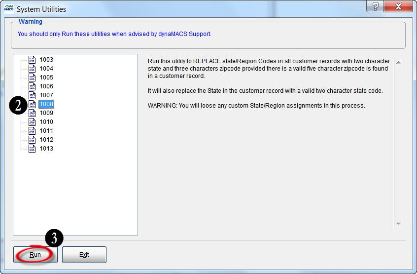 Sys Utilities Screen 2