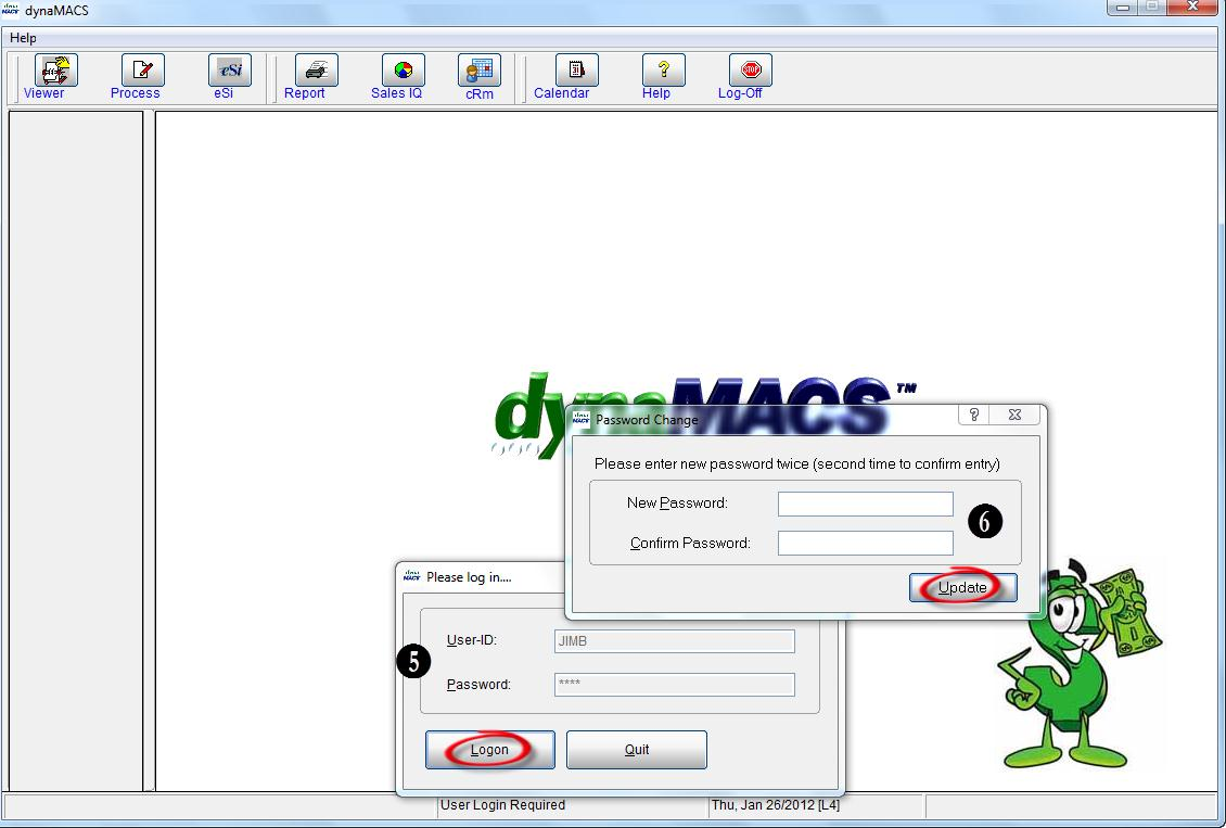 dynaMACS Main Screen 3