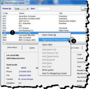Open Smart View Locator