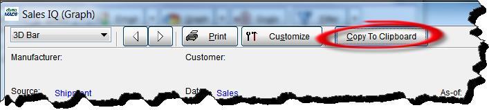 Sales IQ Graph - Copy to Clipboard