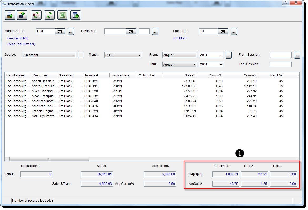 Transaction Viewer 8
